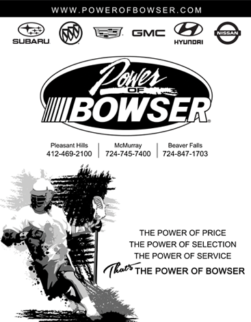 Bowser Ad for Lacrosse Media Guide
