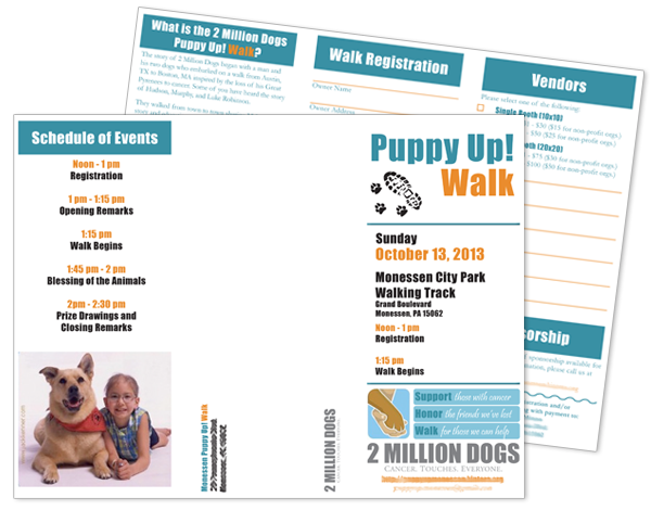 2013 Puppy Up! Brochure