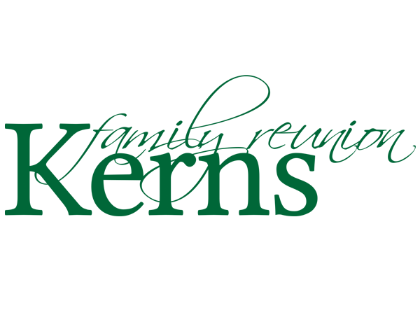 Kerns Family Reunion