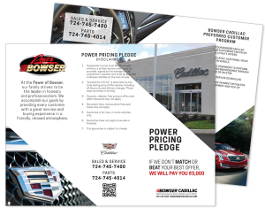 Bowser Cadillac Power Pricing Pledge