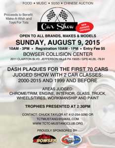 Bowser Car Cruise Flyer