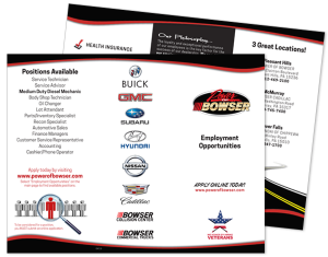 Bowser Employment Brochure