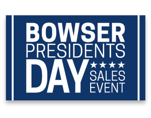 Bowser, Presidents Day